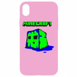 Чохол для iPhone XR Minecraft Head