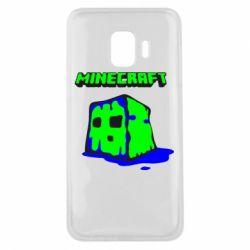 Чохол для Samsung J2 Core Minecraft Head