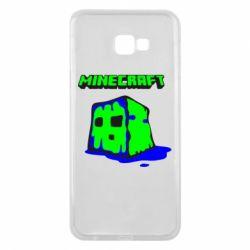 Чохол для Samsung J4 Plus 2018 Minecraft Head
