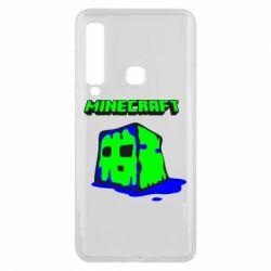 Чохол для Samsung A9 2018 Minecraft Head
