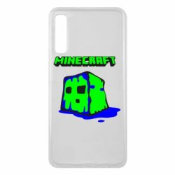 Чохол для Samsung A7 2018 Minecraft Head