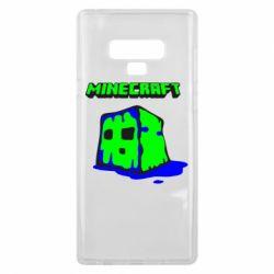 Чохол для Samsung Note 9 Minecraft Head