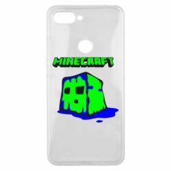 Чехол для Xiaomi Mi8 Lite Minecraft Head