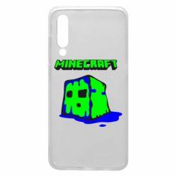 Чехол для Xiaomi Mi9 Minecraft Head