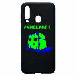 Чохол для Samsung A60 Minecraft Head