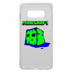 Чохол для Samsung S10e Minecraft Head