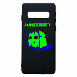 Чохол для Samsung S10 Minecraft Head