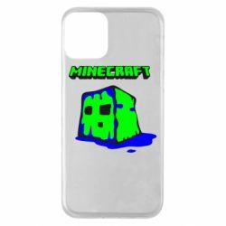 Чохол для iPhone 11 Minecraft Head