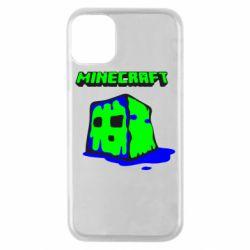 Чохол для iPhone 11 Pro Minecraft Head