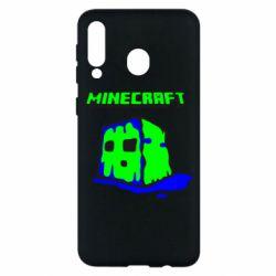 Чохол для Samsung M30 Minecraft Head