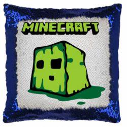 Подушка-хамелеон Minecraft Head