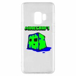 Чохол для Samsung S9 Minecraft Head