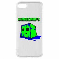 Чохол для iPhone 7 Minecraft Head