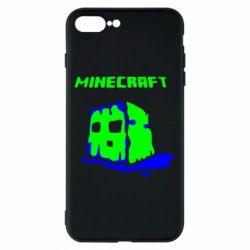 Чохол для iPhone 7 Plus Minecraft Head
