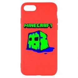 Чохол для iPhone 8 Minecraft Head