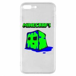 Чохол для iPhone 8 Plus Minecraft Head