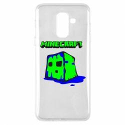 Чохол для Samsung A6+ 2018 Minecraft Head