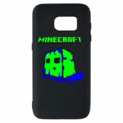 Чохол для Samsung S7 Minecraft Head