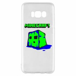 Чохол для Samsung S8 Minecraft Head