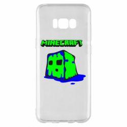 Чохол для Samsung S8+ Minecraft Head