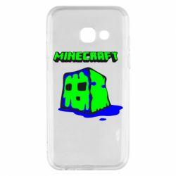 Чохол для Samsung A3 2017 Minecraft Head