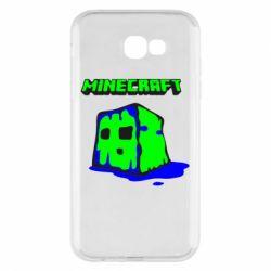 Чохол для Samsung A7 2017 Minecraft Head