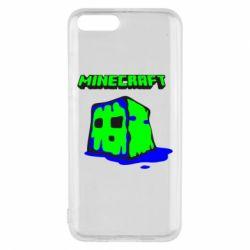 Чехол для Xiaomi Mi6 Minecraft Head