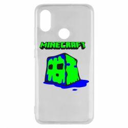 Чехол для Xiaomi Mi8 Minecraft Head