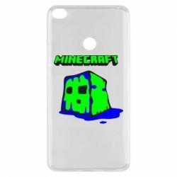 Чехол для Xiaomi Mi Max 2 Minecraft Head