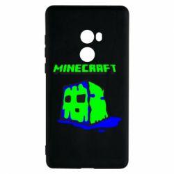 Чехол для Xiaomi Mi Mix 2 Minecraft Head