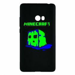 Чехол для Xiaomi Mi Note 2 Minecraft Head