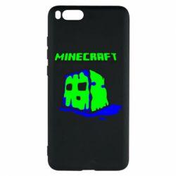 Чехол для Xiaomi Mi Note 3 Minecraft Head