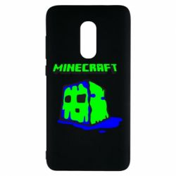 Чехол для Xiaomi Redmi Note 4 Minecraft Head