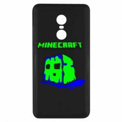 Чехол для Xiaomi Redmi Note 4x Minecraft Head