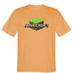 Мужская футболка Minecraft Land - FatLine