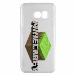Чехол для Samsung S6 EDGE Minecraft Land