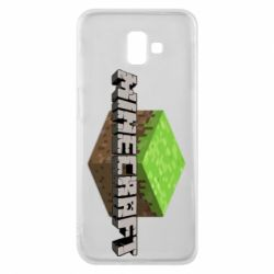 Чехол для Samsung J6 Plus 2018 Minecraft Land