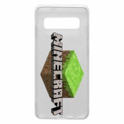 Чехол для Samsung S10 Minecraft Land