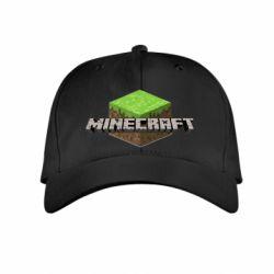 Детская кепка Minecraft Land - FatLine