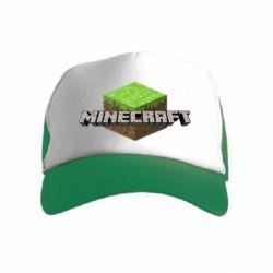 Детская кепка-тракер Minecraft Land