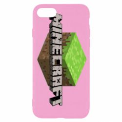 Чехол для iPhone 7 Minecraft Land