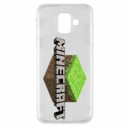 Чехол для Samsung A6 2018 Minecraft Land