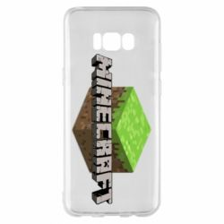 Чехол для Samsung S8+ Minecraft Land