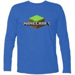 Футболка с длинным рукавом Minecraft Land - FatLine