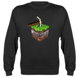Реглан Minecraft Logo Сube - FatLine