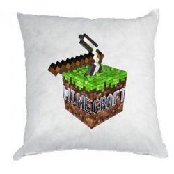 Подушка Minecraft Logo Сube