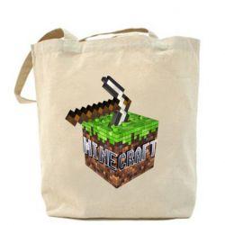 Сумка Minecraft Logo Сube