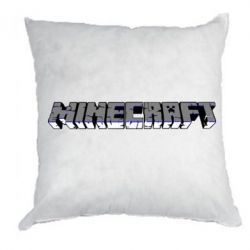 Подушка Minecraft Logo - FatLine