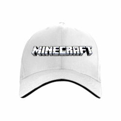 Кепка Minecraft Logo - FatLine