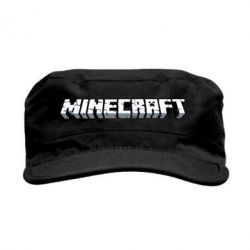 Кепка милитари Minecraft Logo - FatLine